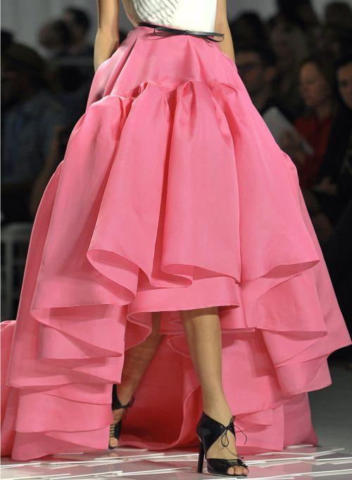 {layered skirt}