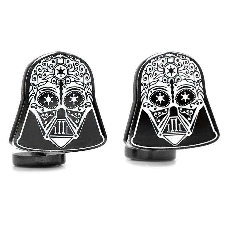 """Approximately 3/4"""" x 3/4"""". base metal and enamel. Fixed back closure. Officially licensed by Lucasfilm LTD."""