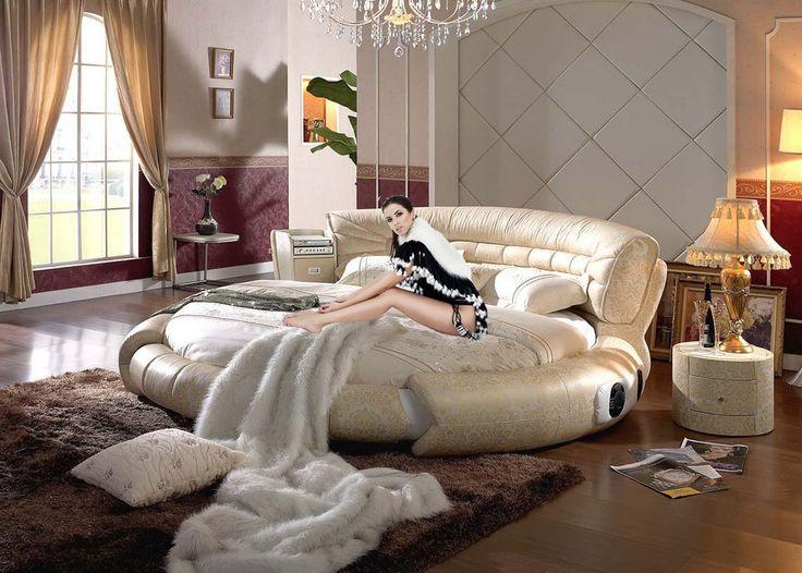 21 best Camas redondas images on Pinterest Bedrooms, Round beds - elegantes himmelbett joseph walsh