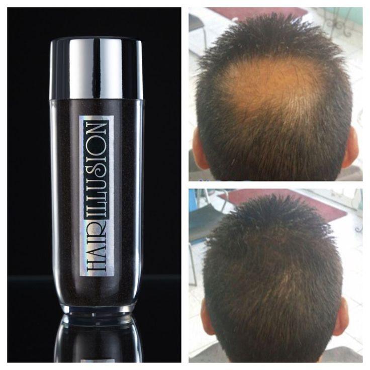 Hair Illusion 38g Hair Building Fibers Hair Thickening Black #HairIllusion