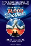Written by Willy Russell, one of the country's leading contemporary dramatists, BLOOD BROTHERS tells the captivating and moving tale of twins who, separated at birth, grow up on opposite sides of the tracks. The incredible score includes Bright New Day and the emotionally charged Tell Me It's Not True. Experience this great British musical at the Phoenix Theatre today!