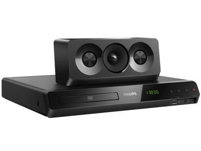 Home Theater Philips HTD5520X/78 c/ DVD Player - 1000W RMS 5.1 Canais Karaokê e Bluetooth com as melhores condições você encontra no Magazine 233435antonio. Confira!