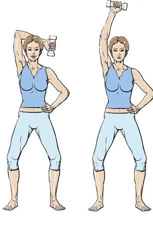 5 exercices pour muscler ses bras - Exercice 1 : l'ensemble des bras - Femme…