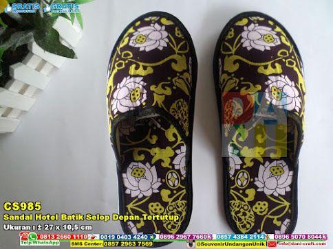 Sandal Hotel Batik Selop Depan Tertutup | Souvenir Pernikahan Sandal Hotel Batik Selop Depan Tertutup SMS; Center 0857 2963 7569 WA / TELP: 0896 5070 8044 PIN BBM 5B 367 E9A Email Info@dani-craft.com #SandalHotel #JualHotel #souvenirUnik