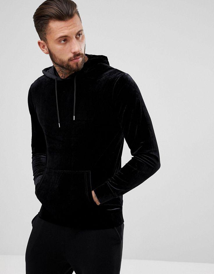Get this YOURTURN's hooded sweatshirt now! Click for more details.  Worldwide shipping. YOURTURN Oversized Hoodie In Black - Orange: Hoodie by  YOURTURN, ...