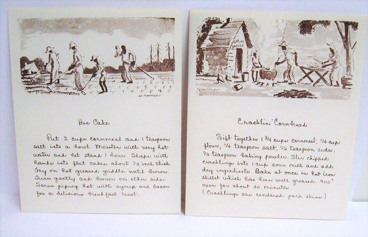 Vintage Black Americana Cards African American Recipes Cooking 15 With Envelopes
