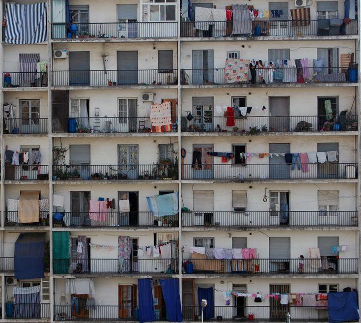 Balconies in Algiers | Algeria (by millevitch)