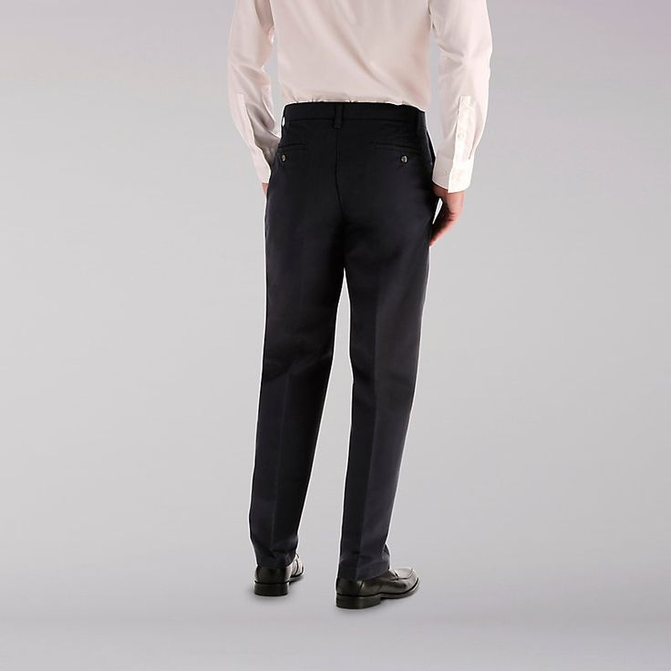 Lee Men's Total Freedom Flat Front Pants (Size 30 x 32)