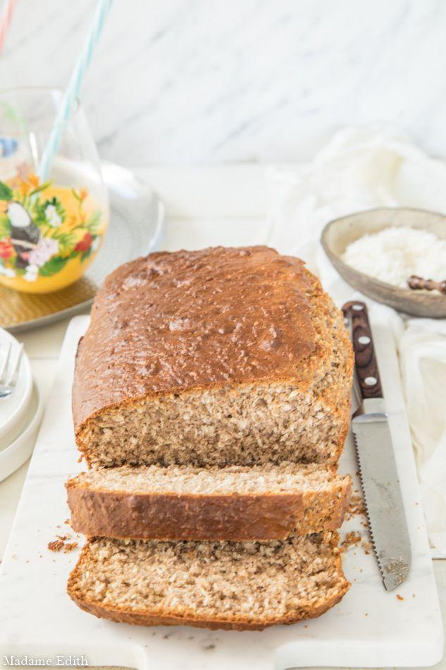 Chlebek Kokosowy Bardzlo Latwe Sniadanie Prosto Z Jamajki Madame Edith Desserts Food Bread