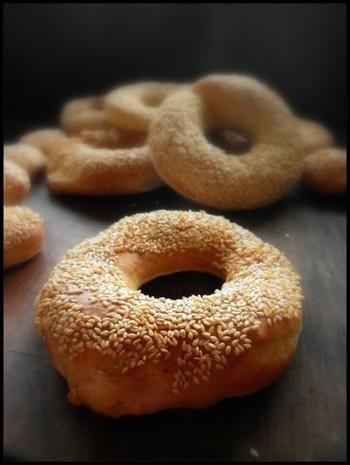 Rezept: Simit - türkische Sesamringe