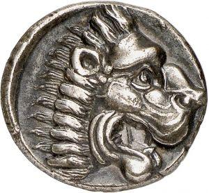 Dracma - argento - Ferai, Tessaglia, Grecia (369-358 a.C.) - leone di profilo vs.sn. a fauci aperte - Münzkabinett, Berlin