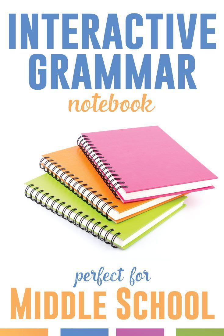 lesson plans middle school grammar
