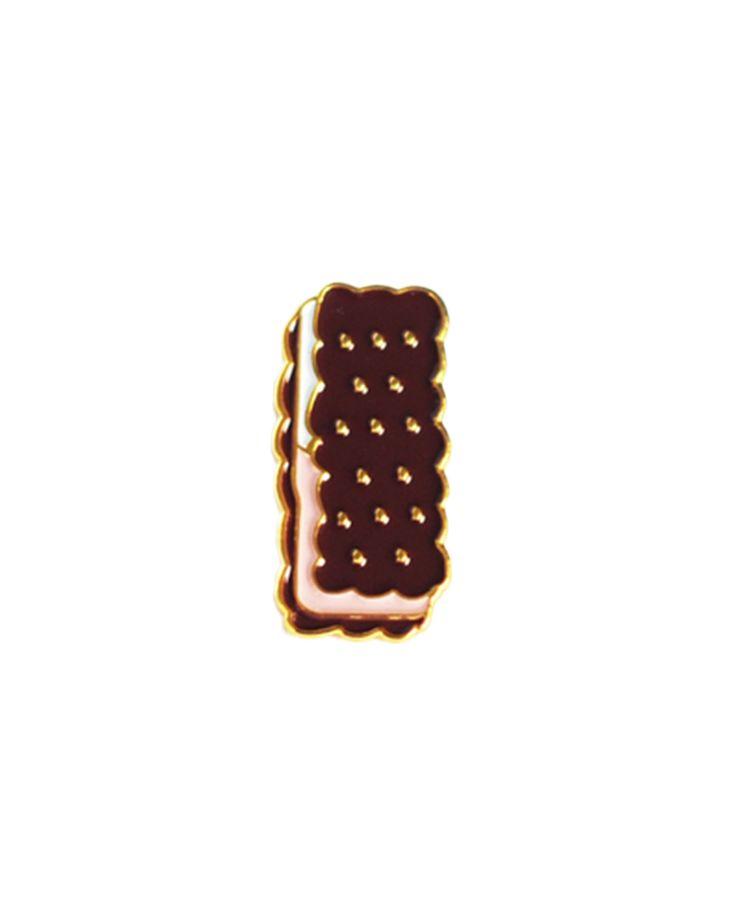 /// Ice Cream Sandwich Pin