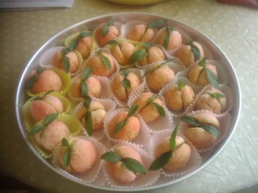Pesche (Italian peach cookies)..I have been looking for this recipe for ages!
