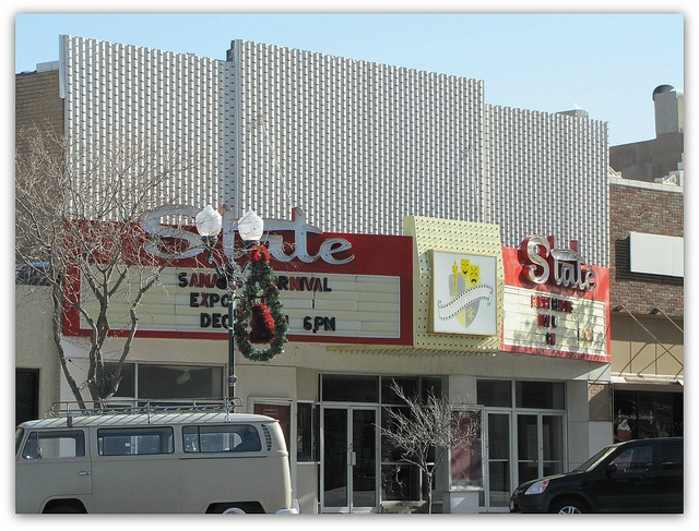 Itu0027s The State Theater In Garden City.