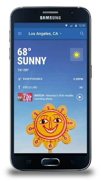 Samsung teams up with The Weather Channel to bring new functionality to weather app