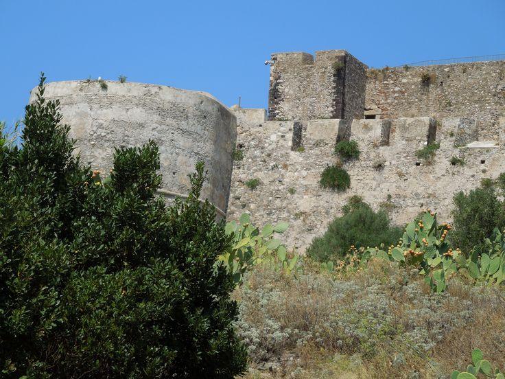 Castle at Milazzo, Sicily.