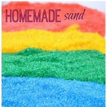 Homemade Colored Sand