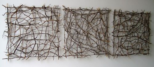 Artist Paul Schick: Organic Twig Sculpture