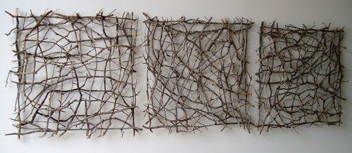 Artist Paul Schick: Organic Twig Sculpture | Olander Garden Design