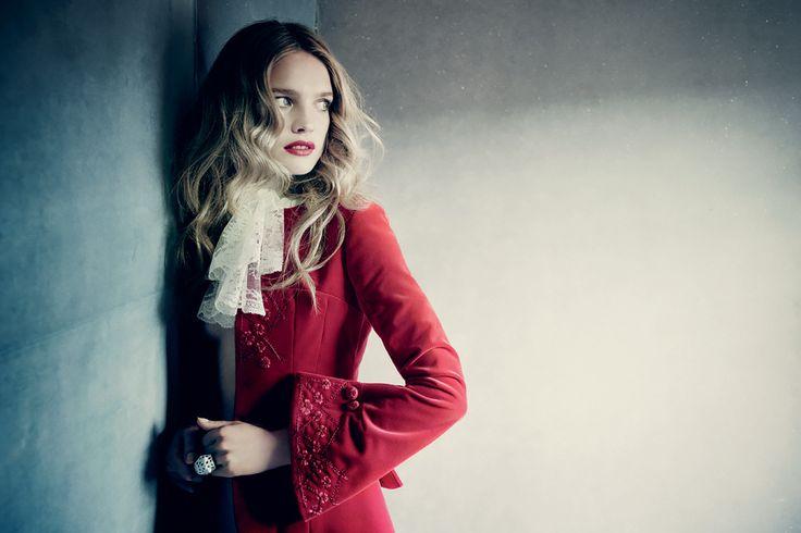 Наталья Водянова. Фото: Паоло Роверси. Vogue Россия, 2014