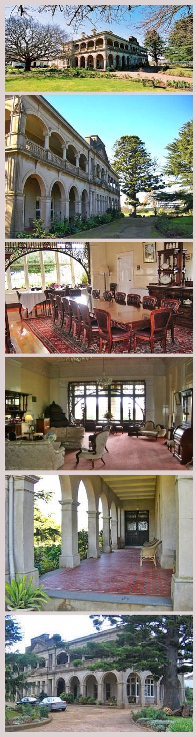 Kilmany Park, Sale (212km E of Melbourne), was settled in 1841 by William Pearson and is one of the oldest established properties in eastern Victoria. Resolute Scot, successful pastoralist, politician and mining entrepreneur, Pearson built a simple timber