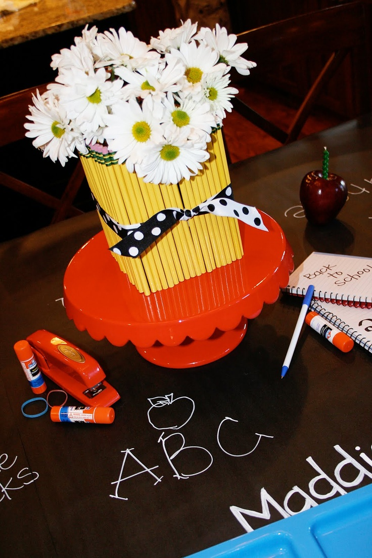 1000 images about room parent teacher luncheon ideas on for Back to school decoration ideas