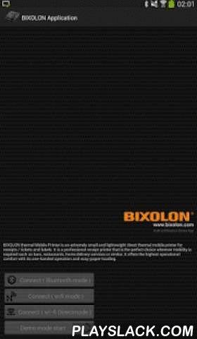 BIXOLON Printer Demo 14  Android App - playslack.com ,  Applicable printers:- Mobile printers (Bluetooth, Wi-Fi, WI-Fi Direct)SPP-R200(Bluetooth)SPP-R200IISPP-R200IIISPP-R210SPP-R300SPP-R310SPP-R400- Thermal printers (Bluetooth, Wi-Fi)SRP-380/SRP-382SRP-F310II/SRP-F312II/SRP-F313IISRP-350IIOBESRP-350plusII / SRP-352plusIISRP-350III / SRP-352III SRP-F310 / SRP-F312SRP-350II / SRP-350IIK SRP-350plusIII / SRP-352plusIIISRP-150SPP-100SRP-275II