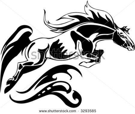 25 best images about horse logos on pinterest horse logo for Horse jumping tattoos