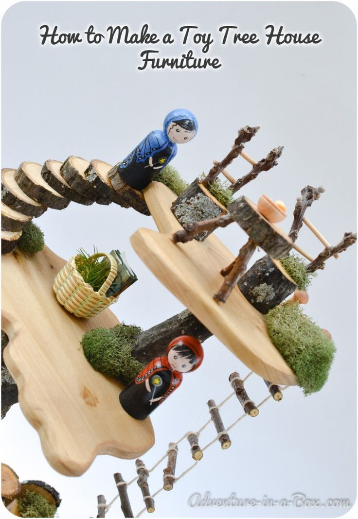 DIY Project: How to Make a Toy Tree House Furniture