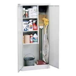 Sandusky Lee Classic Series Janitorial Supply Cabinet https://www.schooloutfitters.com/catalog/product_info/pfam_id/PFAM1986/products_id/PRO6609
