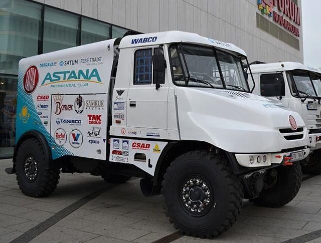 #Dakar2014 Brebeck composite worked on the front fuselage of the newest Bonver Dakar Project's Tatra Jamal. #tatra #brebeckcomposite #carbonfiber www.brebeckcomposite.com