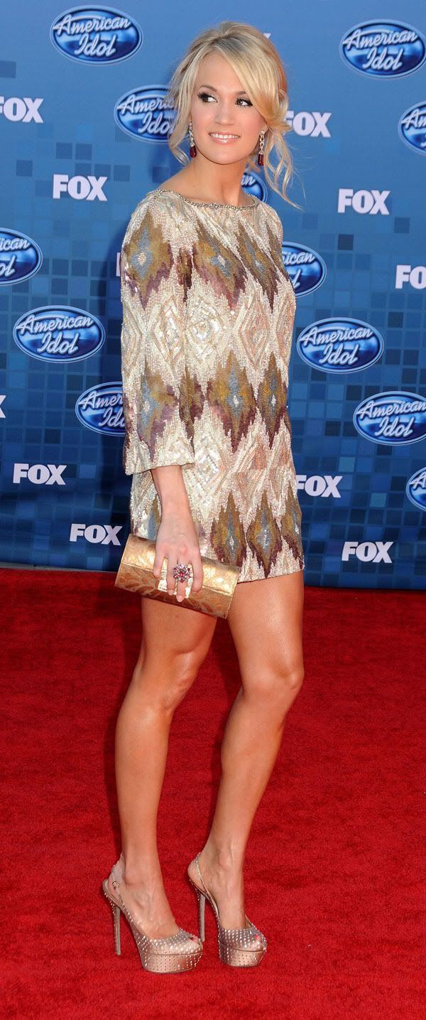 Sexy-Hot, Leggy, & Beautiful Carrie Underwood!!!