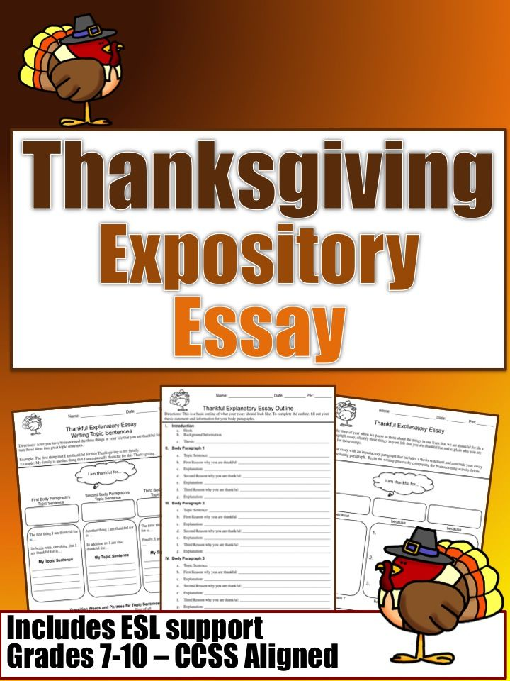 Thanksgiving day essay paper
