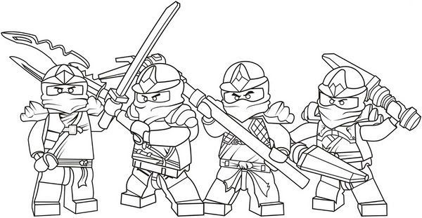 Rysunki Lego Ninjago - Watch as we draw and then color in ...