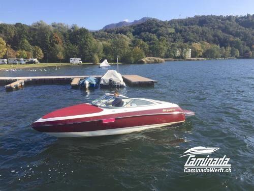 BRYANT 190 BOWRIDER http://www.caminadawerft.ch/boote/bryant-190-bowrider-295928/  TOLLES SPORTBOOT, SEHR GEPFLEGT Top gepflegte Occasion, mit Badeplattform- Verlängerung. #caminadawerft #bryantboats #bowrider #luzern #schweiz #motorboot