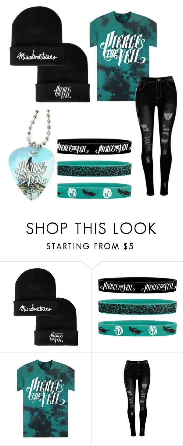 """Pierce the Veil"" by that-emo-scene-kid ❤ liked on Polyvore featuring Hot Topic"