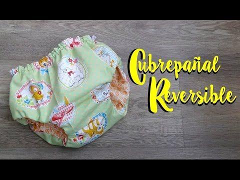 Cubrepañal reversible 2 en 1 ( patrón incluido ) - YouTube