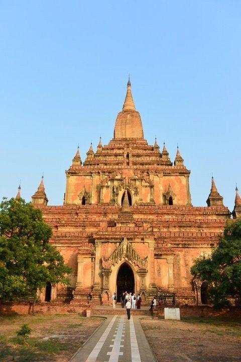 ミャンマー・バガンにある「スラマニ寺院」は回廊の壁画が見所!ミャンマー 旅行・観光のおすすめスポット!