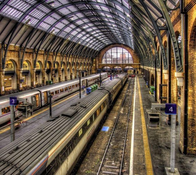 KING'S CROSS STATION | KINGS CROSS | LONDON | ENGLAND: *Southern terminus of the East Coast Main Line*