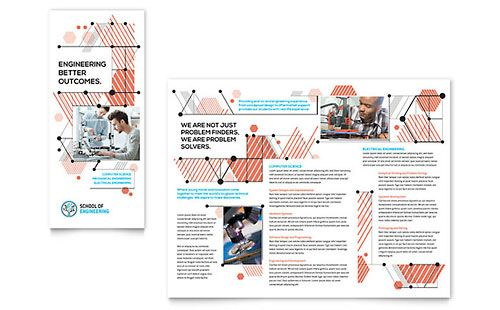 engineering brochure templates - 14 best trifold brochure images on pinterest tri fold