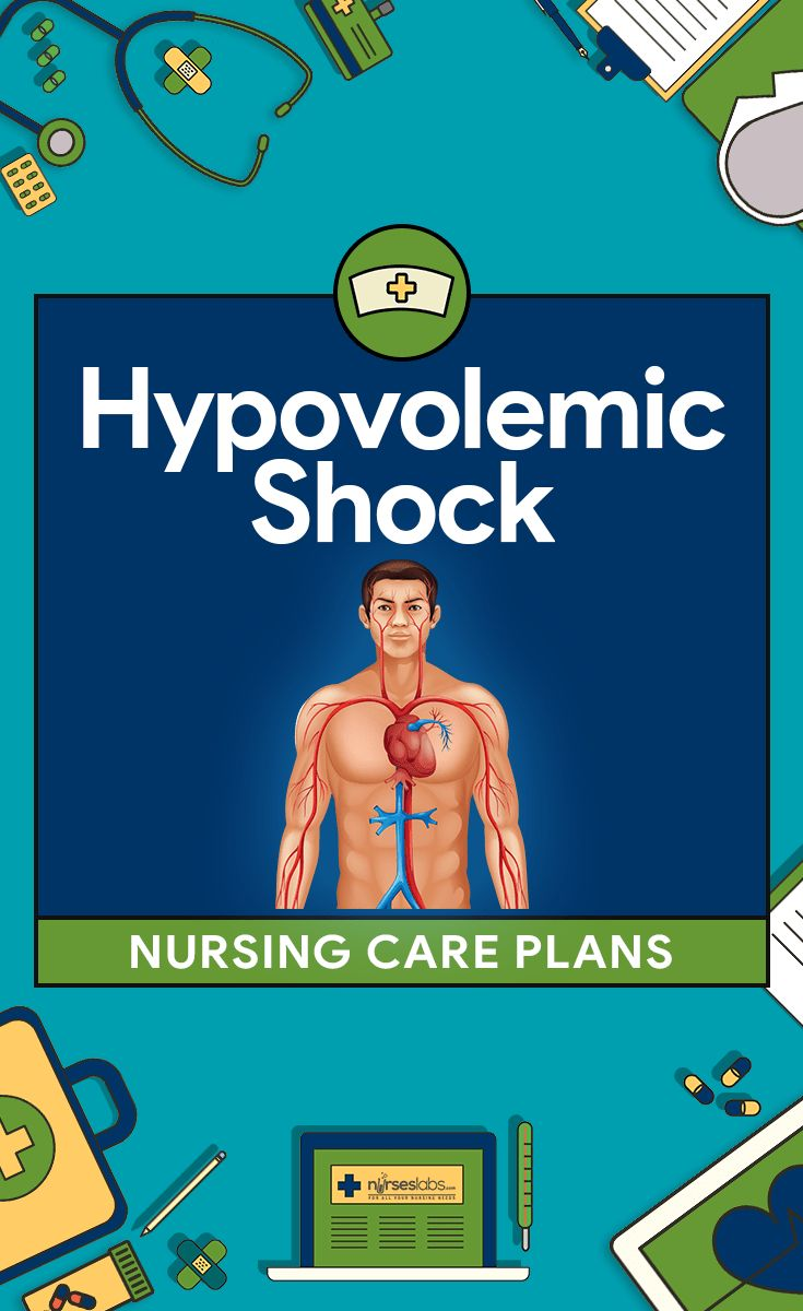 Hypovolemic Shock Nursing Care Plans: Nursing care for patients with Hypovolemic Shock focuses on assisting with treatment aimed at the cause of the shock and restoring intravascular volume. Here are four (4) nursing care plans (NCP) for Hypovolemic Shock:
