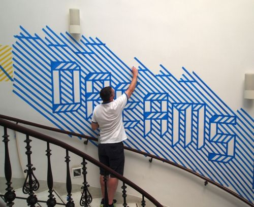 25 best ideas about Painters tape design on Pinterest