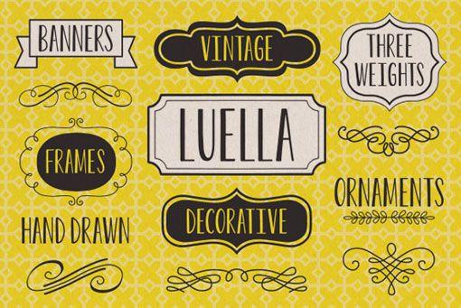 Luella Font #type