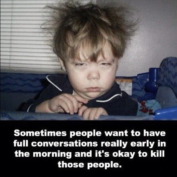 LOL! This is me EVERY MORNING!
