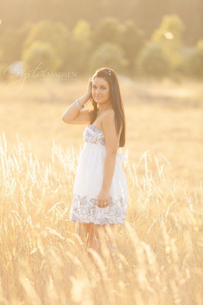 Senior Picture Ideas For Girls Outside | Carissa's High School Senior Photos, A Spokane Photographer - Crystal ...