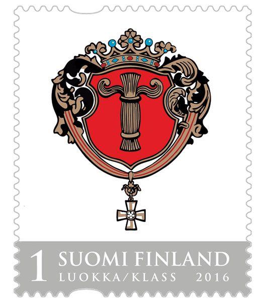 Vaasan vaakuna, Suomi Finland 2016