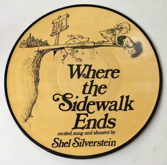 shel silverstein where the sidewalk ends - 570×563
