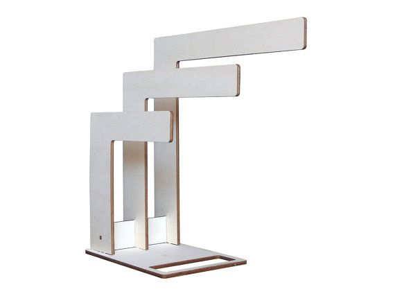 Trelle minimal design wooden magazine rack by lexioshop on Etsy