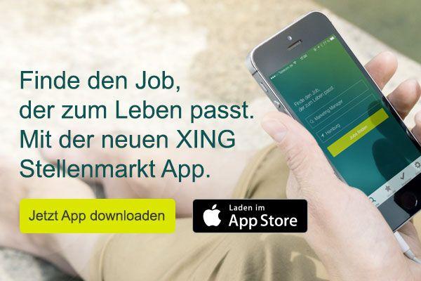 Finde den Job, der zum Leben passt. Mit der neuen XING Stellenmarkt App.